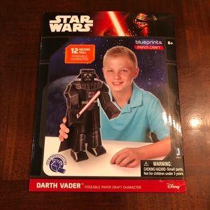 """Star Wars Darth Vader Paper Craft Character 12"""""""